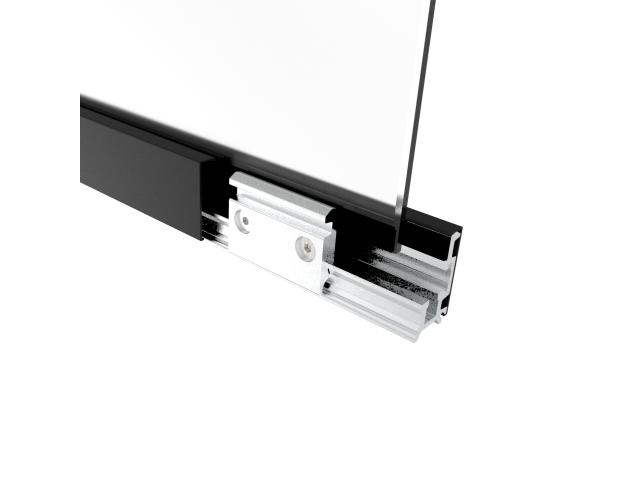 Zasklení pevné -  set 3m profilu , L=3000mm