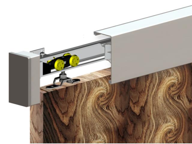 Holztür - Schiebetür System - Oberführung AL 60kg