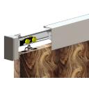 Drzwi przesuwne - AL bar, ładowność 60kg