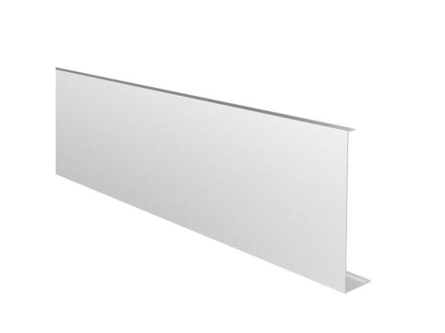 Alu-borítólemez üvegkorlát födémprofillra 5m