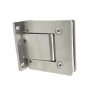 Hinge for glass door AISI304 hydraulik