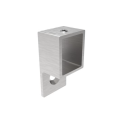 Handrail bracket - glass clamp - flange