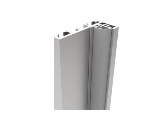 """Zárubňový profil pro skleněné dveře  """"L"""""""