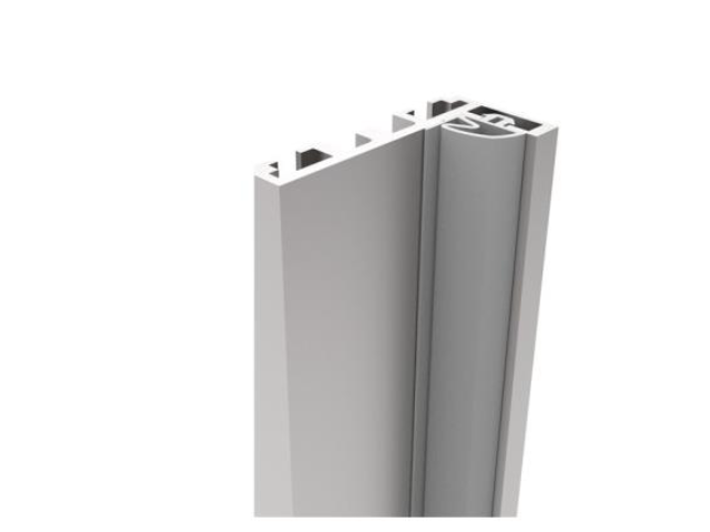 """Zárubňový profil pre sklenené dvere """"L"""""""