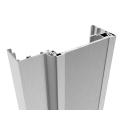 """Alumínium profil üvegajtótok """"U"""" 75-105mm SET"""