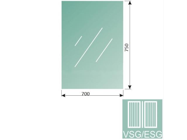 Číre, kalené, lepené sklo 8,76-700x750