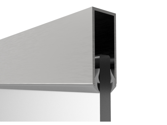 Zasklení pevné - profil U AL-Elox 40x18mm, SET