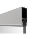 Aluminum profile AL-Elox 40x18mm, SET