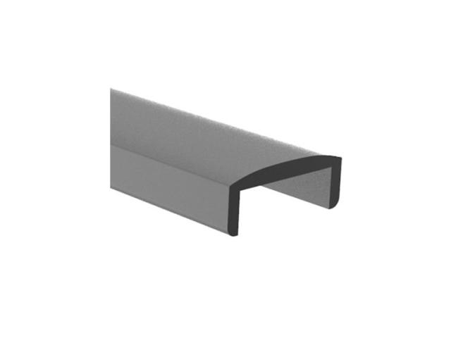 Handrail for glass AL-elox, 22x16/T9/L6000mm