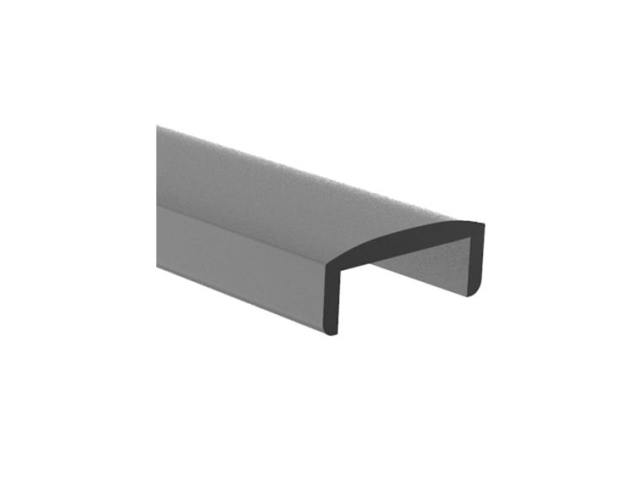 Poręcz aluminiowa AL-elox, 22x9/T18/L6000mm