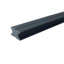 WPC plný podkladový hranol Antracit 40x25x4000mm
