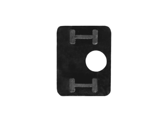 Rubber inlay for glass clamp  17,52mm, model 27 T1