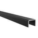 Madlo držiak skla AL, 18x12/T14/L6000mm