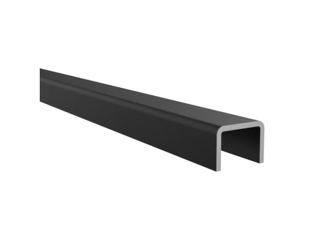 Handrail for glass