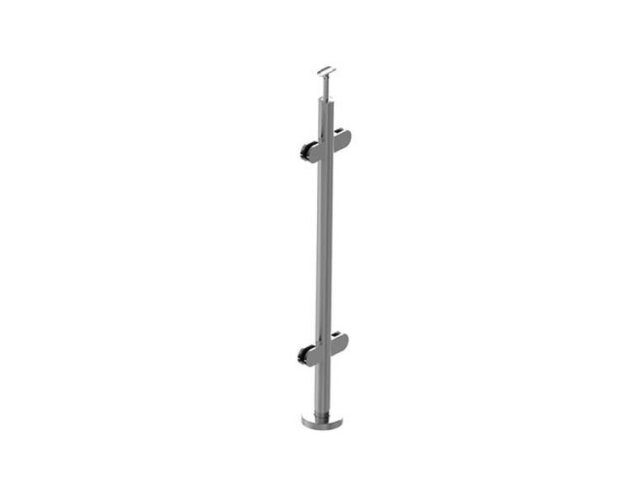Stainless steel pole - BK, straight