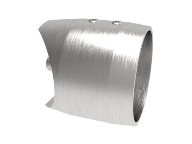 Tube - flat centerline crossbar holder- axial