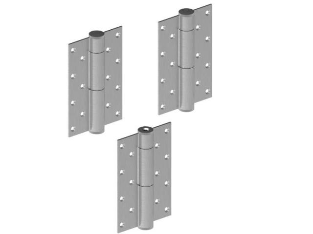 Hydraulický jednostranný samozatvárací set závesov