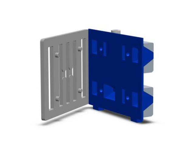 AL-profil, connecting pin