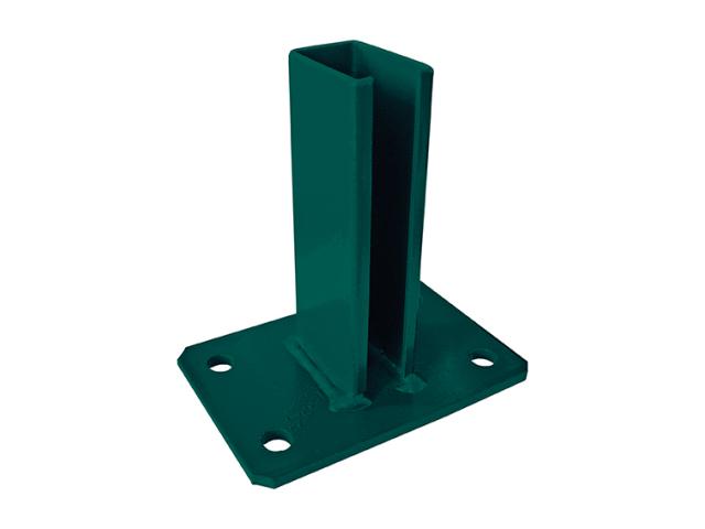 Pätka stĺpika ZnPVC 40x60mm zelená