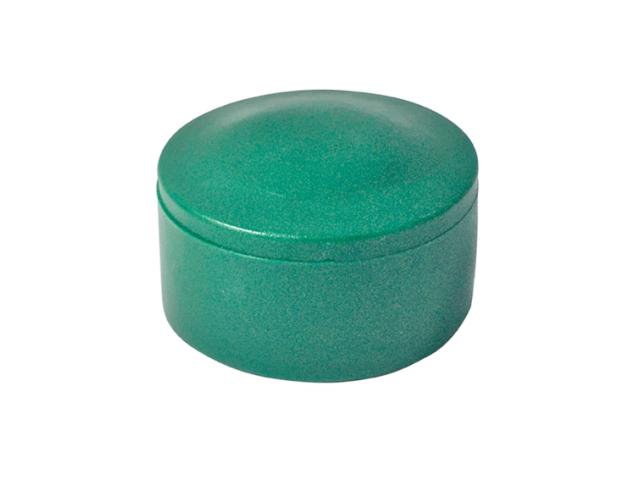 Čiapočka na stĺpik D48mm PE zelená
