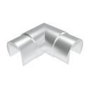 Madlo-držiak skla-koleno hliníkové