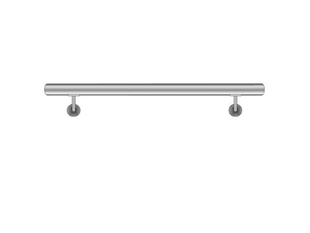 Handrail AISI304, D42,4/L1500mm