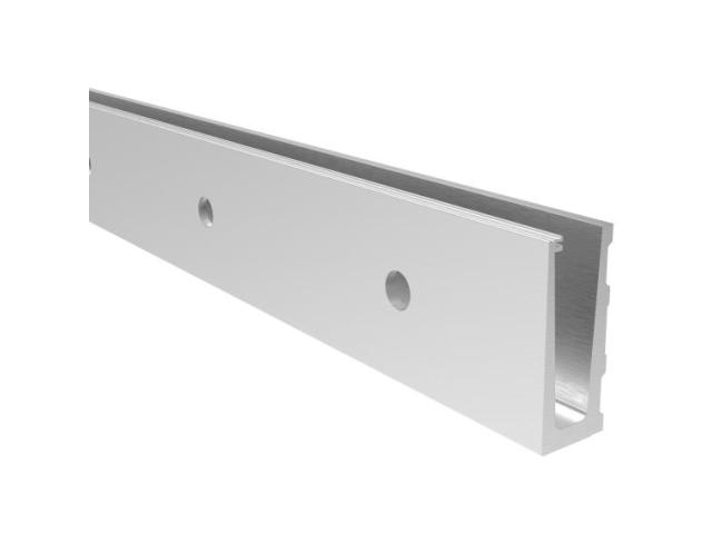 Hliníkový kotvící profil - boční kotvení