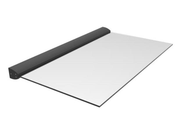 Prosklená markíza hliník profil + sklo tvg