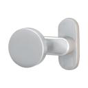Door handle with plate, pair AISI 304, K320, fix