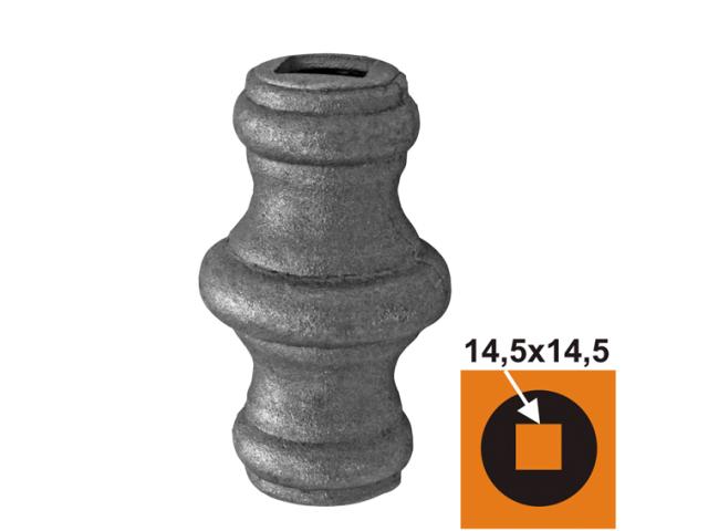 Návlek kovaný h62,2  D42, 14,5x14,5mm