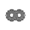 Štítok zámkový-kľučka D70, t3, d18mm