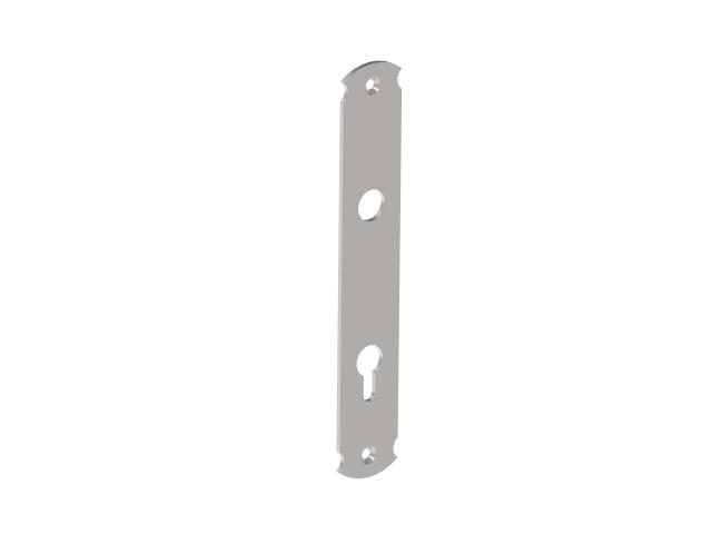 Lock plate 240x40, t3, C90, D18mm