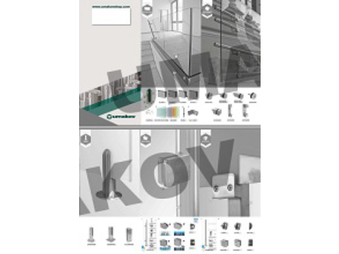 Leaflet - Stainless steel and glass railings