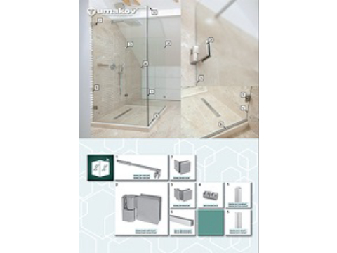 Leták - Sprchovacie kúty