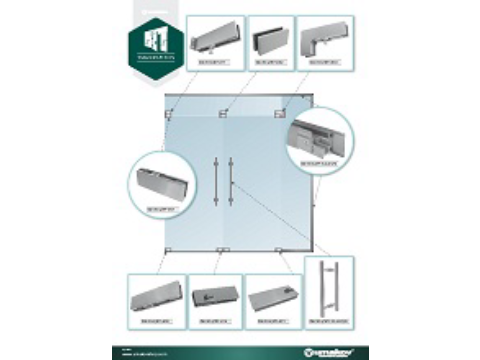 Leaflet - Whole-glass walls and doors
