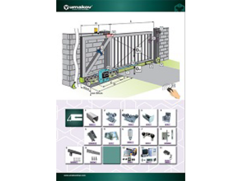 Broschüre - Cantilever gates