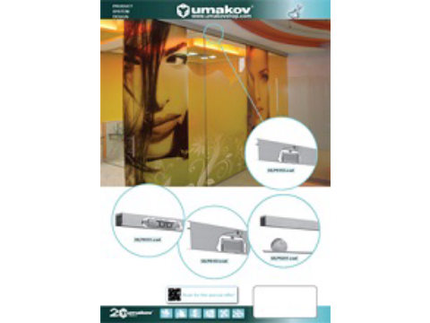 Leaflet - Sliding doors - with strip