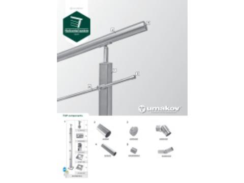 Broschüre - Balustrade components - system 40x40x2